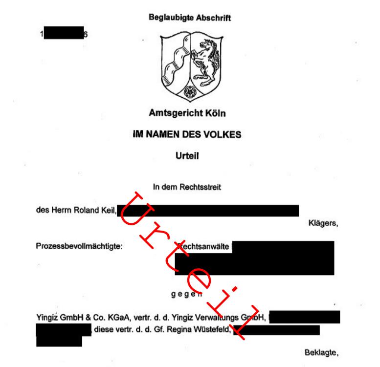 Urteil gegen Yingiz (personenbezogene Daten teilweise geschwärzt)